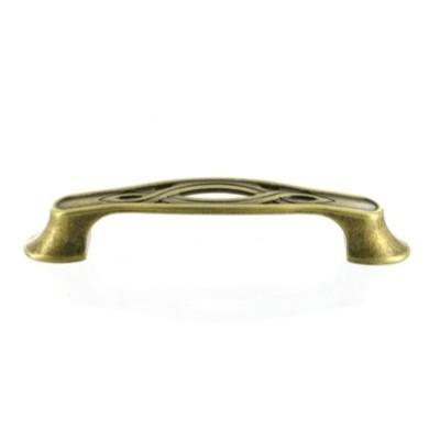 Мебельная ручка-скоба GUISTI L-96 мм., латунь античная